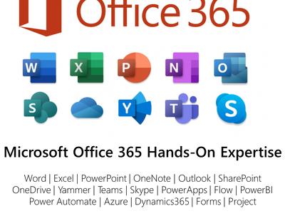 Provide 1 hour of Microsoft O365 Tools Consultation