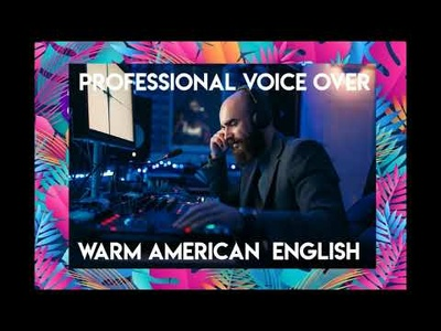 Produce an American English Male voice over