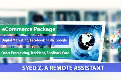 Admin Work , Amazon eBay & Full eCommerce Virtual Assistant