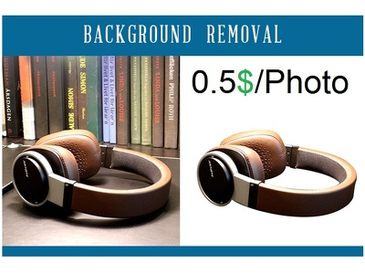 Background removal for 20 photos