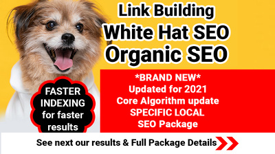 Link Building, SEO GOOGLE Strategy, white hat & Organic SEO