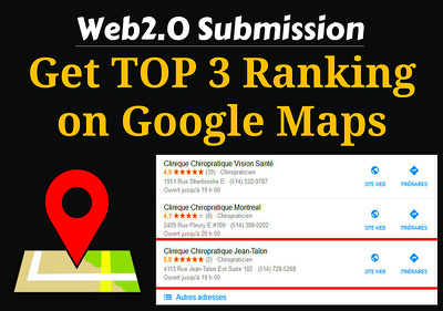 I will embed your google maps in 300 web2 sites for local SEO