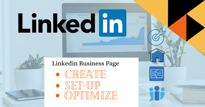 Create and set up your LinkedIn business page