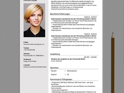 Write you a interview winning resume