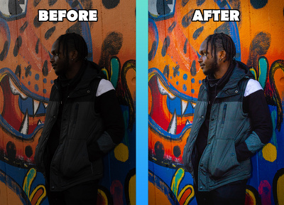 Retouch and edit 1 image