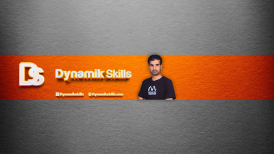 Design a Youtube channel cover photo