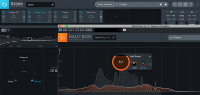 Master your track, podcast or audio project (optional stem mix).