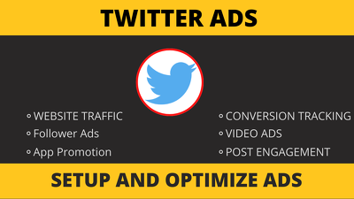 Create and optimize twitter ads campaigns
