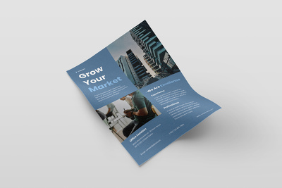 Design your promotional Flyer/poster
