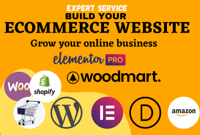 Build ecommerce website by wordpress woocommerce in 24 hours