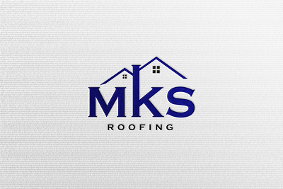 Design Real Estate, Roofing, Construction business logo