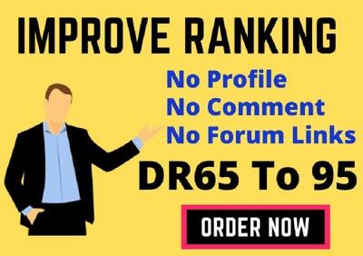 Make high quality authority SEO dofollow backlinks link building
