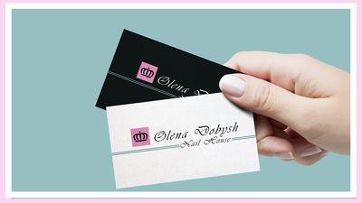 Logo & Business card unique design