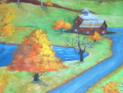 Paint a custom illustration! - scenery, animals, etc