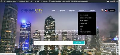 Design a website using Elementor or Elementor pro