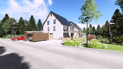 Create 3d home exterior design and rendering