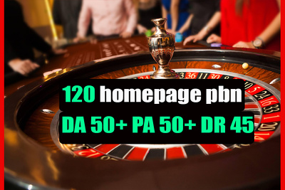 Niche pbn on DA50+ sites Gambling | Casino | Poker | Betting