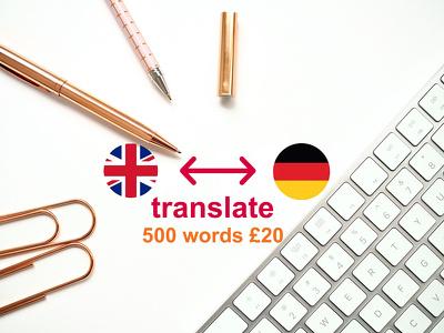 Translate ENG-GER / GER-ENG