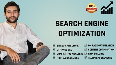 Complete SEO of your Website for top rank on google