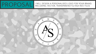 Design a personalised logo for your brand