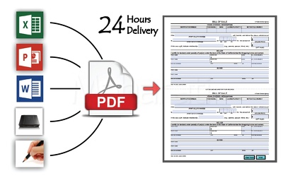 Design your print form, invoice or fillable interactive PDF