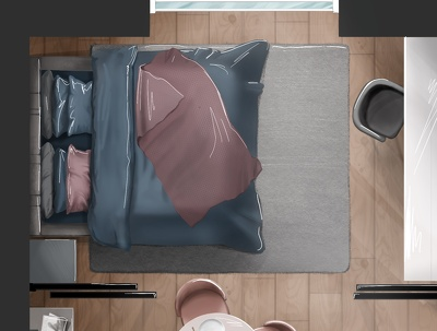 Make an artistic render of your floor plan
