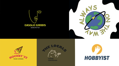 Design your original logo with +Unlimited revisions+Source Files