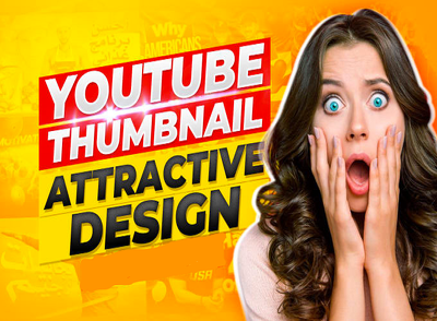 Design amazing YouTube 3 thumbnails for your YouTube Chanel