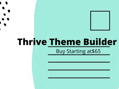 Design your Landing Page on WordPress Thrive Theme