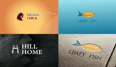 Design a minimal logo and animation