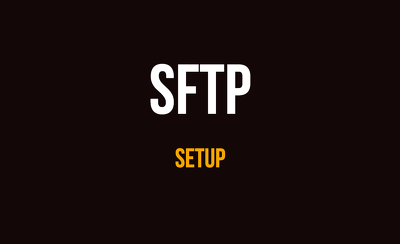 Setup SFTP and up to 2 accounts on your server in one hour