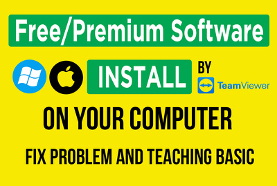 Provide and Install software on your computer & fix problems