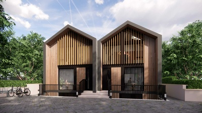 Create 4 x 3D CGI visuals of your residential development
