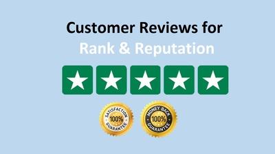 Add 50 Trustpilot 5 Star Reviews to Boost Google Ranking & SEO