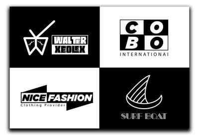 Design minimalist business logo design