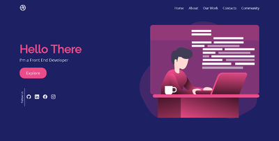 Convert PSD or web design to responsive website with HTML CSS JS