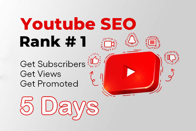 Youtube SEO to get more views and subscribers