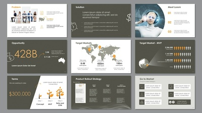 Create professional template (PowerPoint) for non-designers