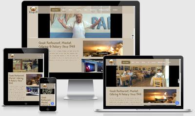 Design restaurant website with online food ordering system
