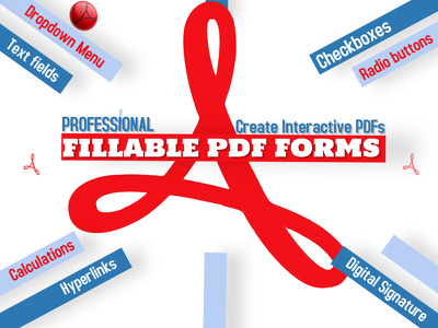 Create Professional PDF fillable forms and add hyperlinks