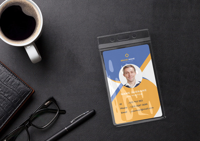 Design Highly Professional ID Card, Corporate & Student Card