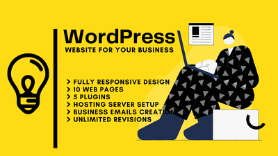 Responsive & SEO Friendly WordPress Website For Your Business
