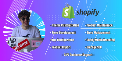 Create professional high converting shopify dropshipping store