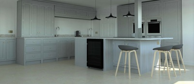 Provide you with HD rendered images of your dream kitchen.
