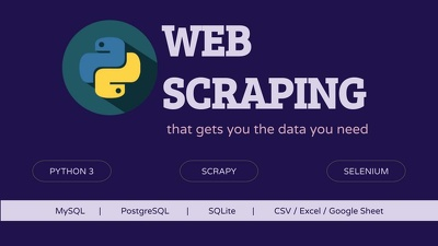 Build a Professional Web Scraping Bot using Python