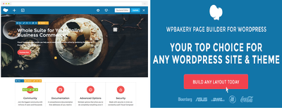Install WP bakery and customize it