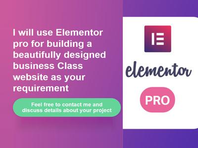Responsive, Fast Loading WordPress Landing Page - Elementor PRO
