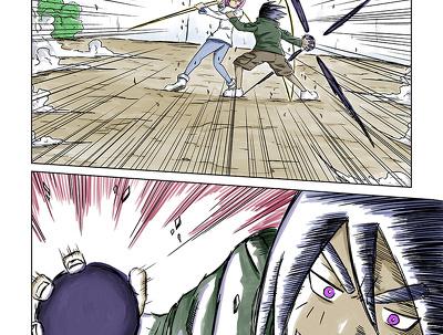 Manga/webtoon pages