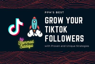 Promote Your TikTok Profile and Grow Followers