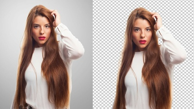 Professionally Background remove 100 images by clipping path